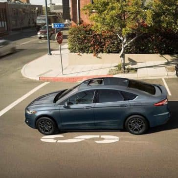 2019 Ford Fusion At Intersection