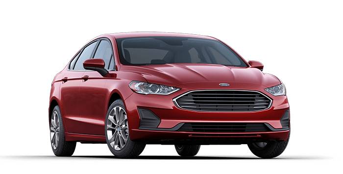2019 Ford Fusion Red