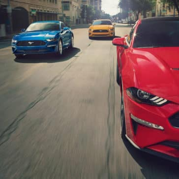 2019 Ford Mustang Trio