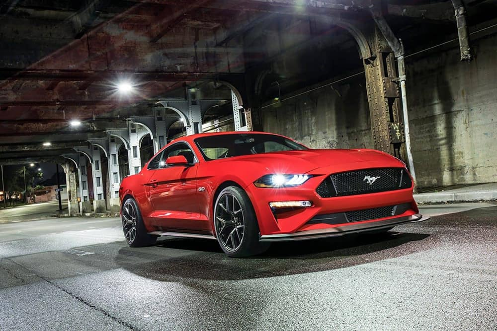 2019 Ford Mustang Red