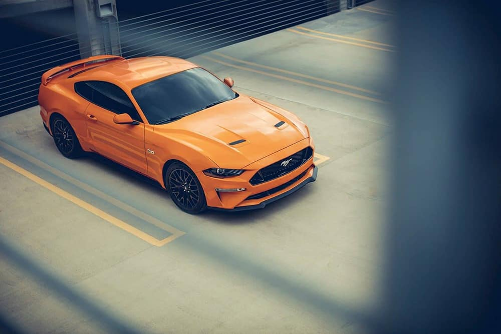 2019 Ford Mustang Parked