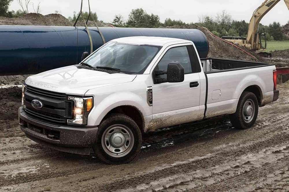 2019 Ford F-250 On Jobsite CA
