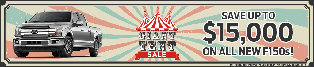 Giant Tent Sale at Capital Ford