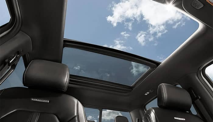 Ford F-150 Seats and Moonroof