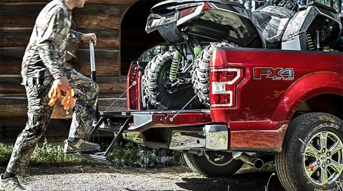 Ford F-150 Tailgate Step