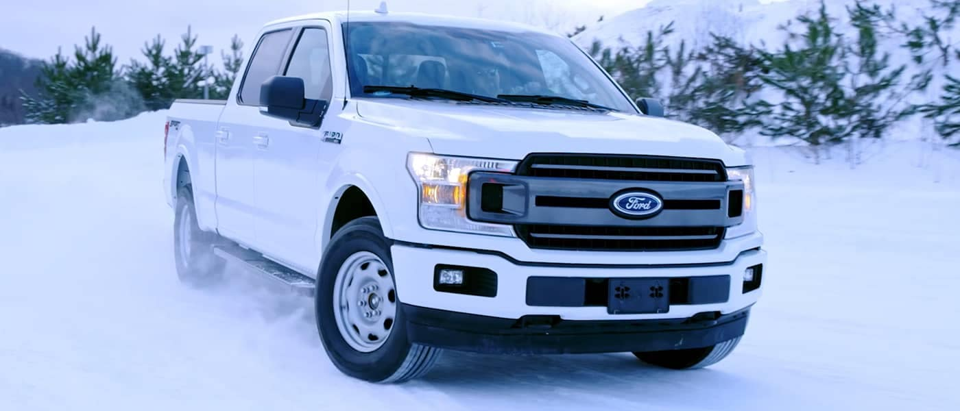 F-150 Driving in Snow