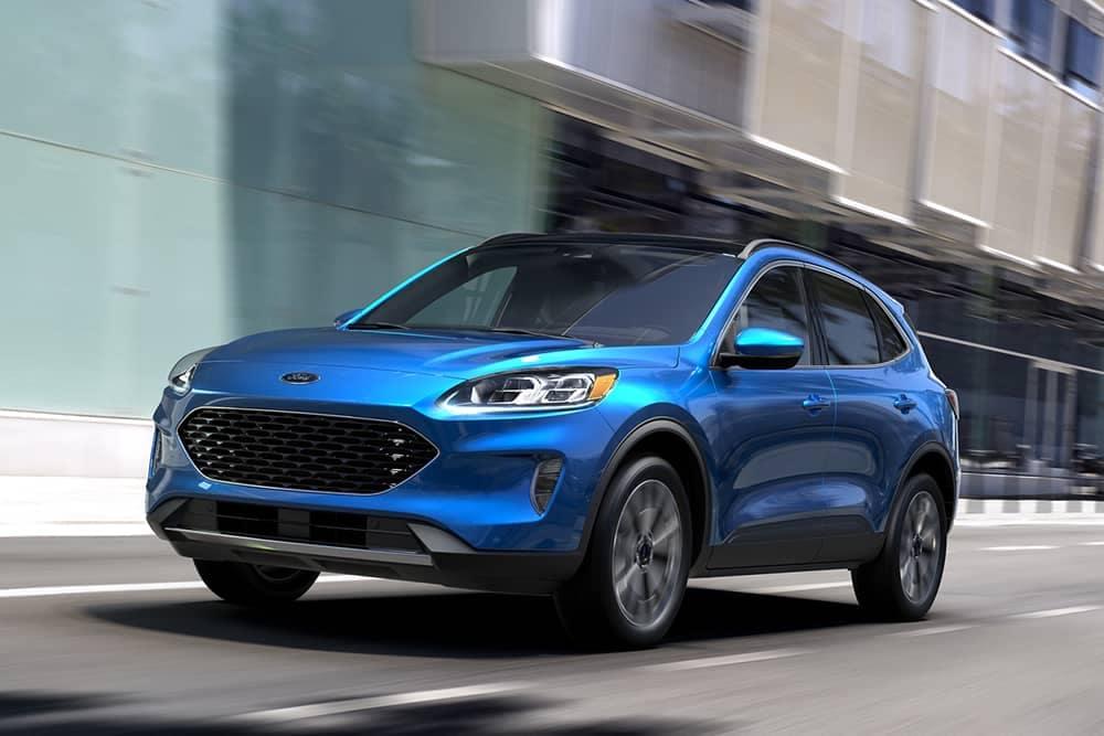 2020 Ford Escape Driving