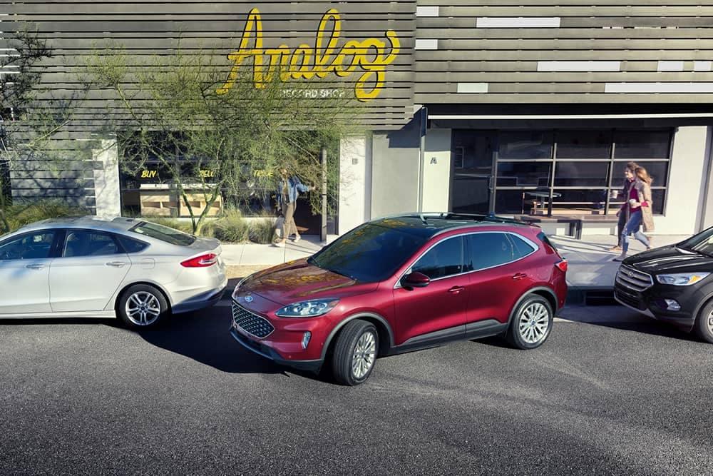 2020 Ford Escape Parking