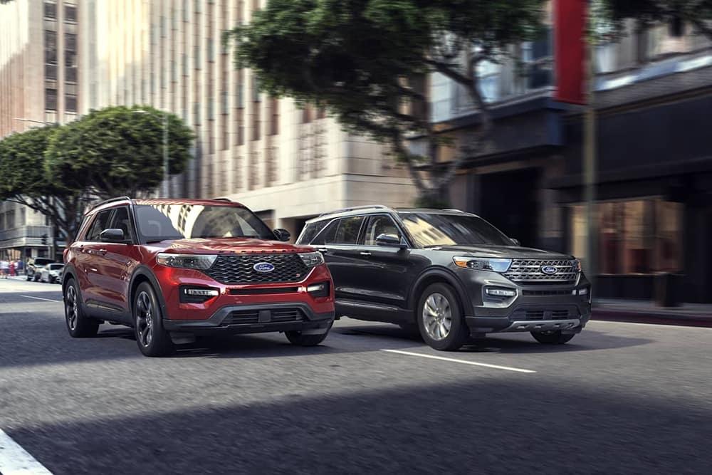 2020 Ford Explorer Pair