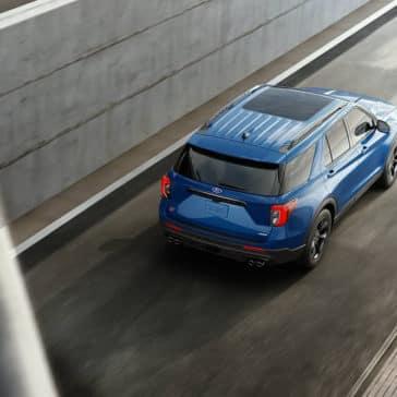 2020 Ford Explorer Rear
