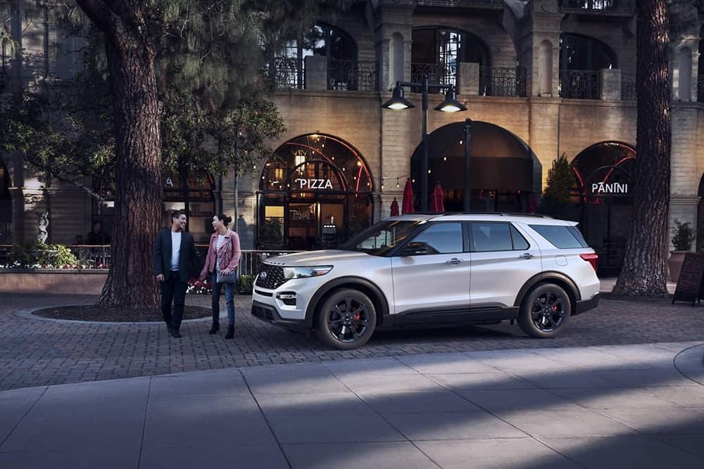 2020 Ford Explorer Parked