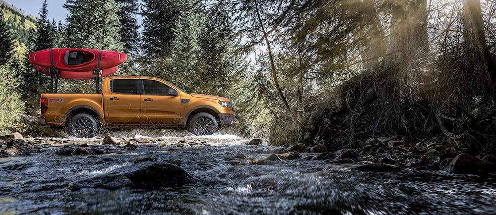 2019 Ford Ranger with Accessories