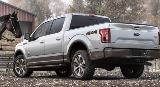 Ford F-150 Superduty Rear Shot