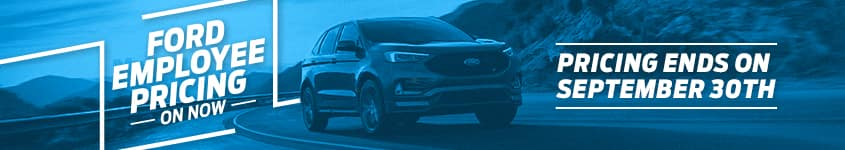Employee Pricing Ford Edge 2020 Ends September 30