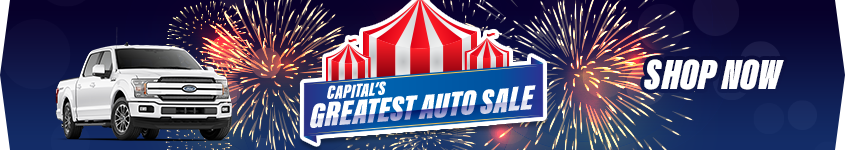 Capital's Greatest Auto Sale