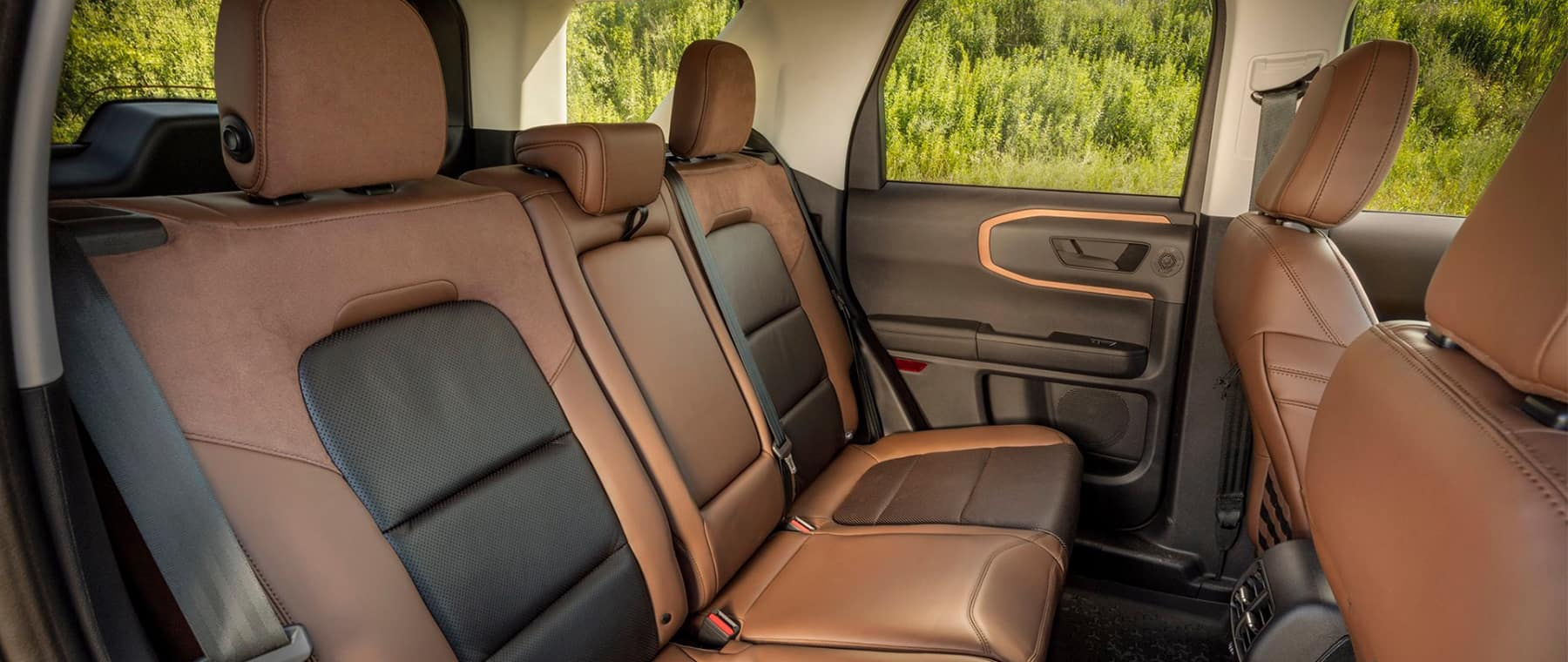 2021 Bronco back seats