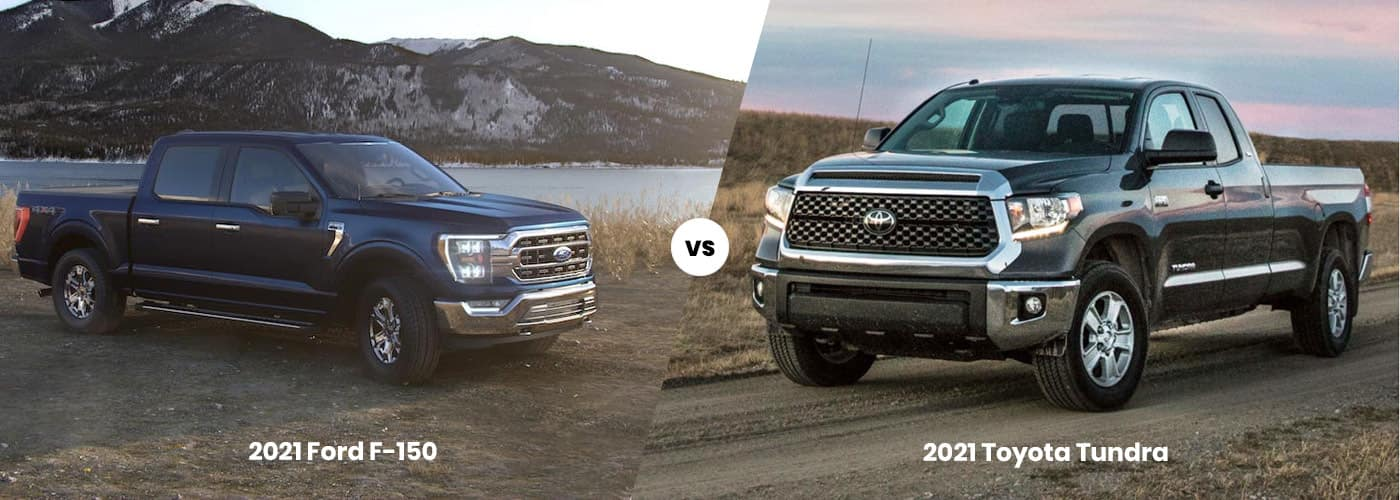 Ford F-150 vs. Toyota Tundra 2021