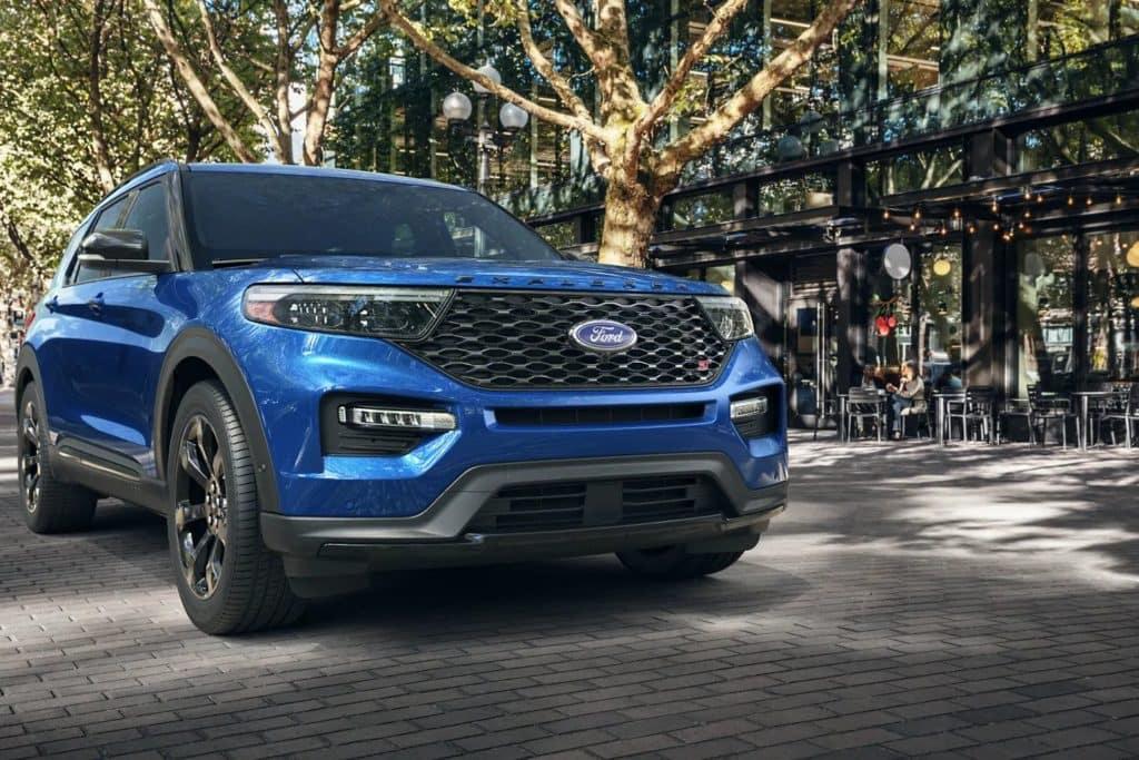 2021 Ford Explorer ST in Blue