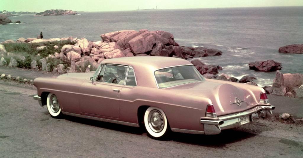 The 1956 MK II Lincoln Continental