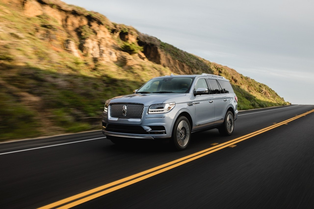 Redesigned 2018 Lincoln Navigator