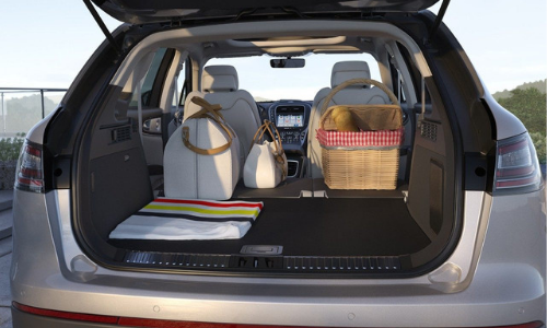 Cargo Space in the 2019 Nautilus