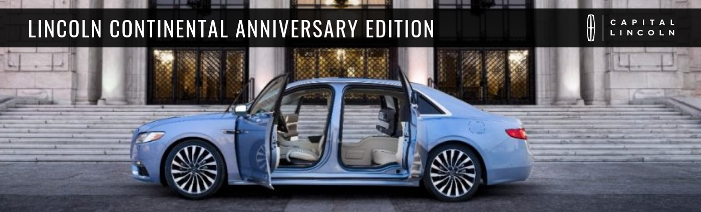 2019 Lincoln Continental 80th Anniversary Coach Edition