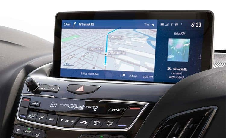 2021 Acura RDX Display Screen