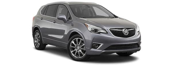 A 2020 Buick Envision Essence is angled right.