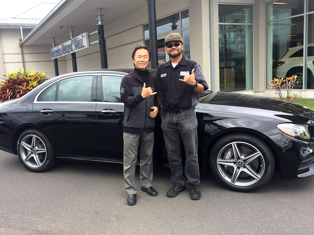 Mercedes-Benz of Maui General Manager and Detail Technician