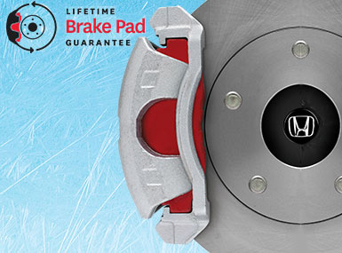 Formula Honda LIFETIME BRAKE PAD GUARANTEE