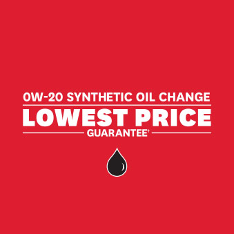 0W-20 Synthetic Oil Change Lowest Price Guarantee