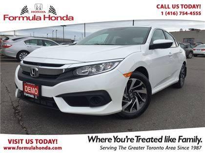 2017 Honda Civic EX Executive Driven Demo