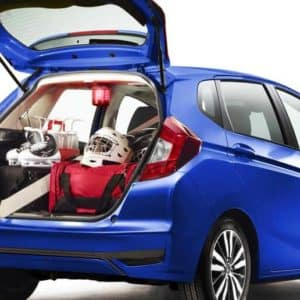 cargo space 2020 Honda Fit available at Formula Honda