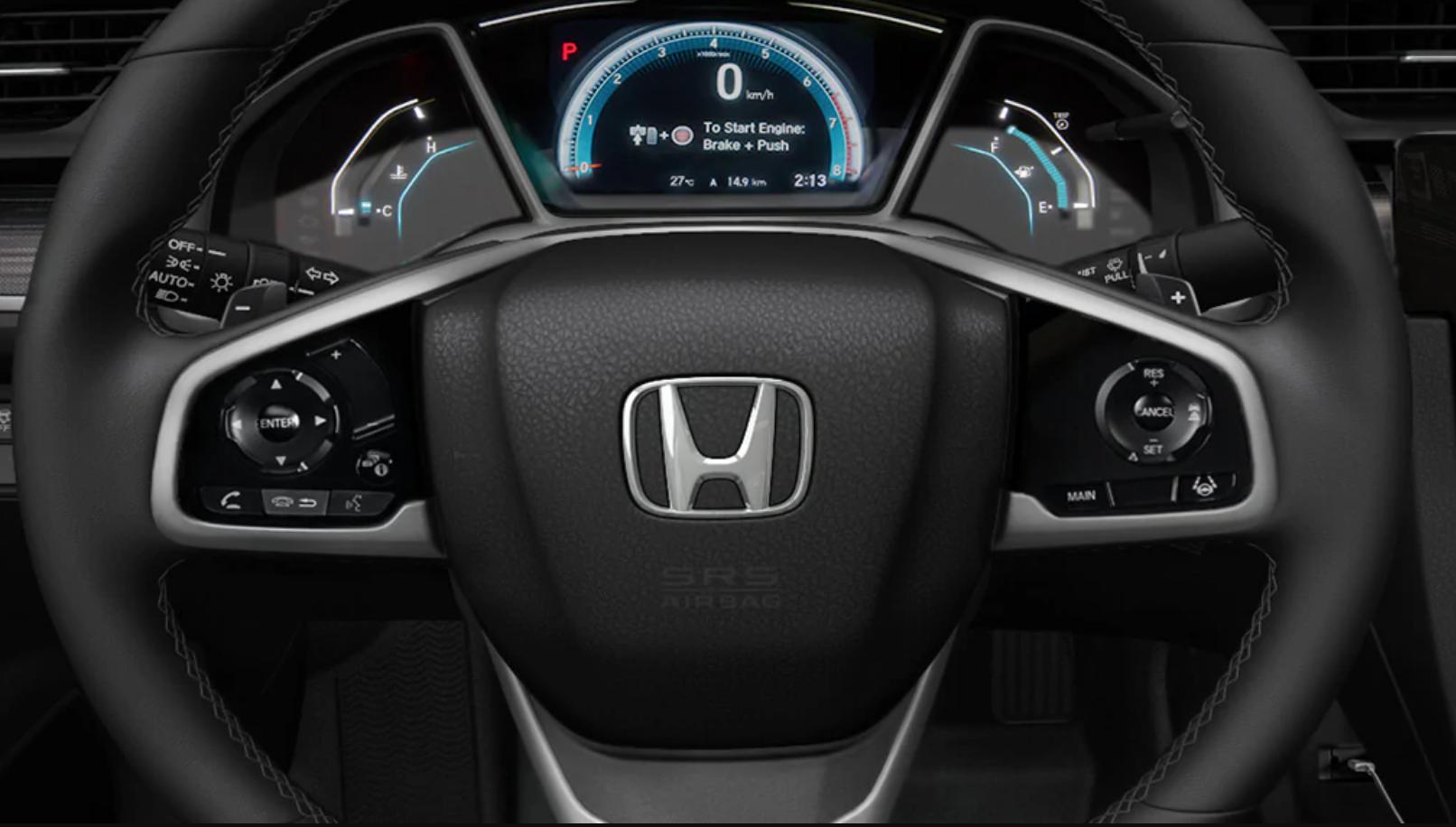 Honda Civic oil life indicator