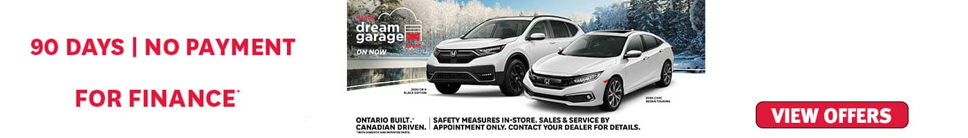 January 2021 Honda Offers and Incentives at Formula Honda in Scarborough