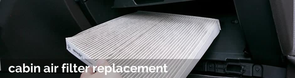 Cabin air filter replacement in Winston-Salem