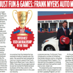 Frank Myers in Yes Weekly 2018