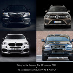 2016 Acura MDX vs Audi Q7, BMW X5, and Mercedes-Benz GLE350