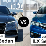 2016 Acura ILX versus The 2016 Audi A3