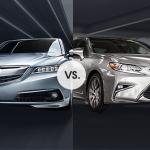 Lexus ES 350 vs. Acura TLX