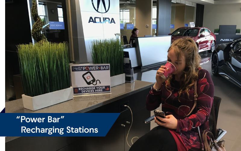 PowerBar Charging Stations | Friendly Acura 2.0
