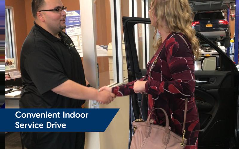 Convenient Indoor Service Drive   Friendly Acura 2.0