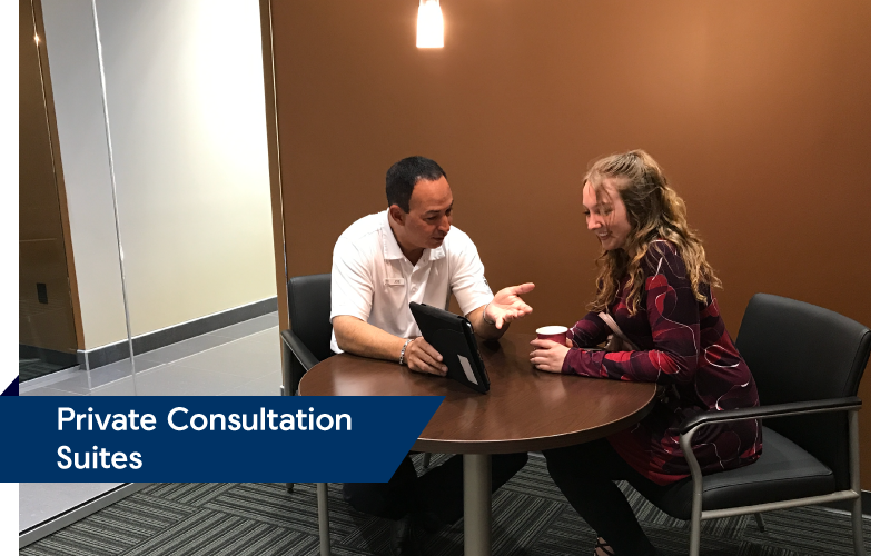 Private Consultation Suites | Friendly Acura 2.0