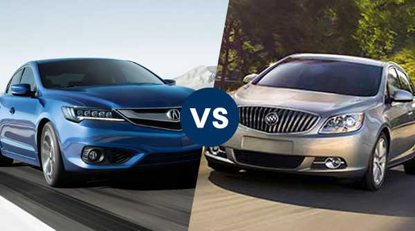 Comparison: 2017 Acura ILX vs 2017 Buick Verano   Friendly Acura of Middletown