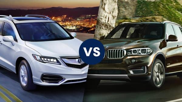 Good Comparison: 2018 Acura RDX Vs 2018 BMW X5 SDrive35i