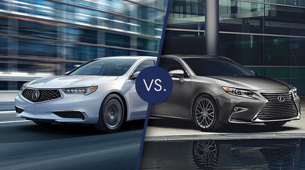 Amazing When Comparing The 2018 Acura TLX To The 2018 Lexus ES 350, Youu0027ll Notice  Some Remarkable Similarities As Well As Some Differences.