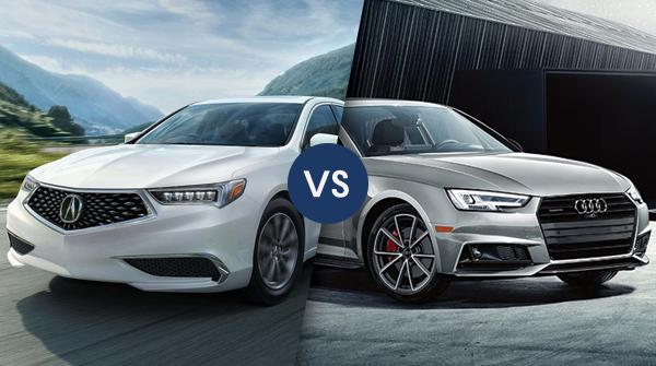 Comparison: 2019 Acura TLX vs 2019 Audi A4