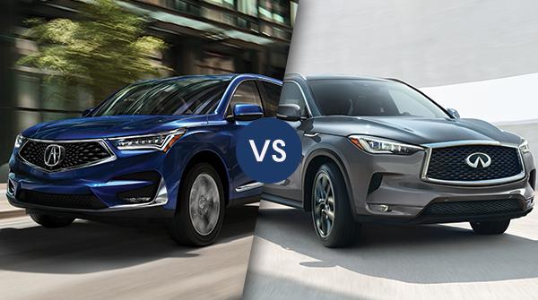 Comparison: 2019 Acura RDX vs 2019 Infiniti QX50