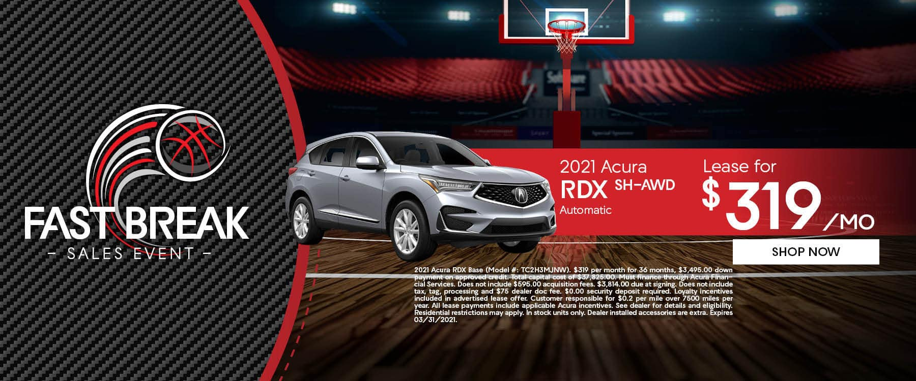 Fast Break Sales Event at Friendly Acura of Middletown!