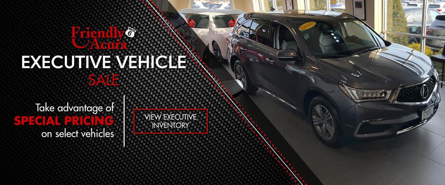 Executive Vehicle Sales Event